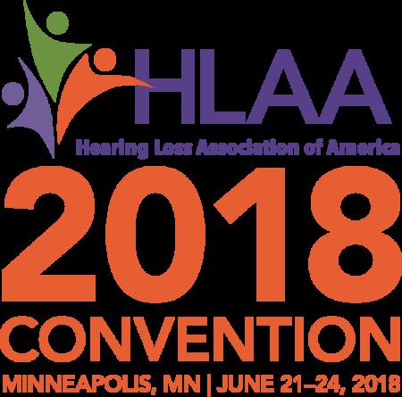 HLAA2018 Convention logo