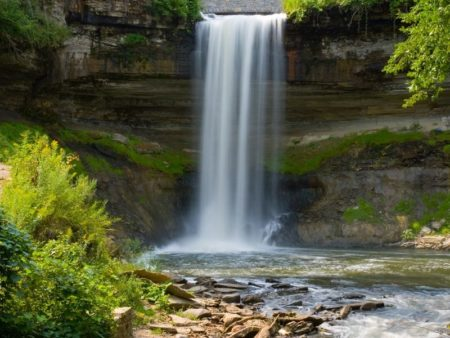 Waterfall at Minnehaha State Park