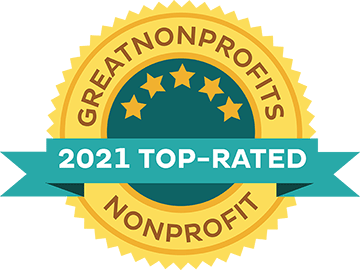 Great Nonprofits 2020 top rating award badge