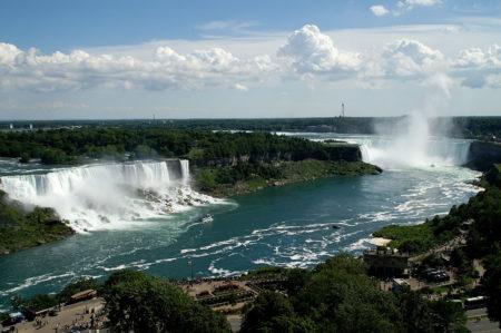 Bird's eye view of Niagara Falls
