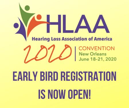 HLAA2020 Convention Logo