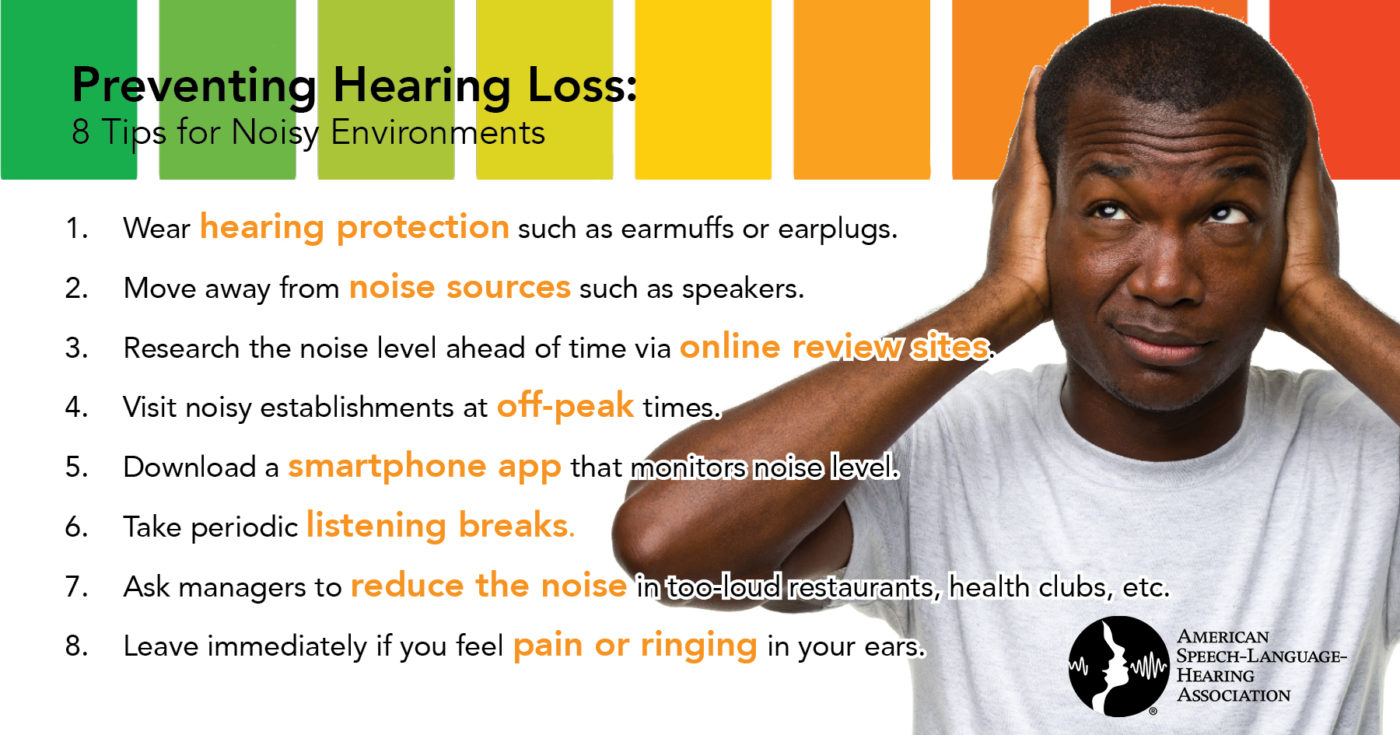 8 Tips for Noisy Environments to Prevent Hearing Loss