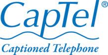 CapTel Captioned Telephone logo