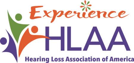 "HLAA logo with ""Experience HLAA"" in the headline"