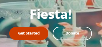Get Started button on the Fiesta! page