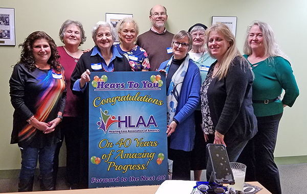 HLAA Staff and Greater Baltimore Chapter