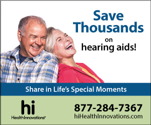 hi HealthInnovations banner ad with a couple laughing