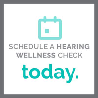 Schedule a Hearing Wellness Check Today graphic