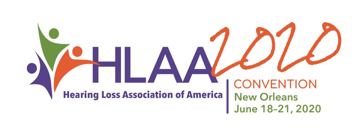 HLAA 2020 Convention Logo