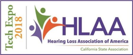 HLAA-CA Tech Expo logo