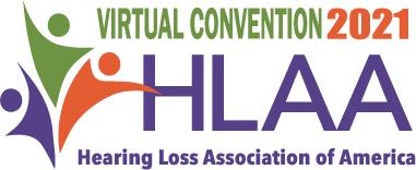 HLAA 2021 Convention Logo