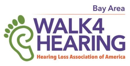 HLAA Walk4Hearing Bay Area, CA logo