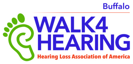 HLAA Walk4Hearing Buffalo logo