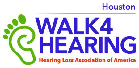 Houston Walk4Hearing logo