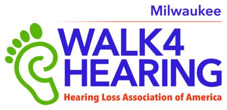 Milwaukee Walk4Hearing logo