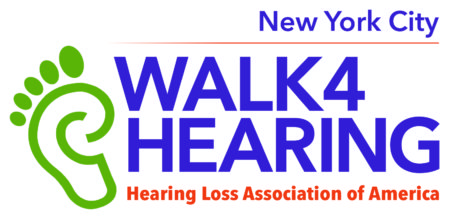 NYC Walk4hearing logo