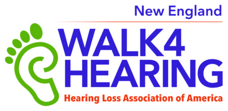 New England Walk4Hearing logo