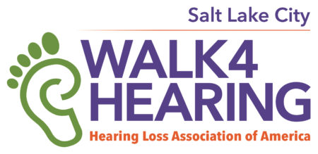 HLAA Walk4Hearing Salt Lake City logo