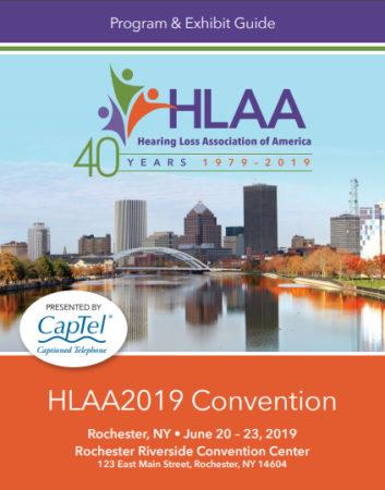HLAA2019 Convention Program & Exhibit Guide Cover