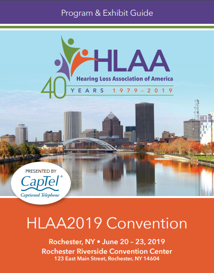 HLAA2019 Convention Program & Exhibit Guide Cover