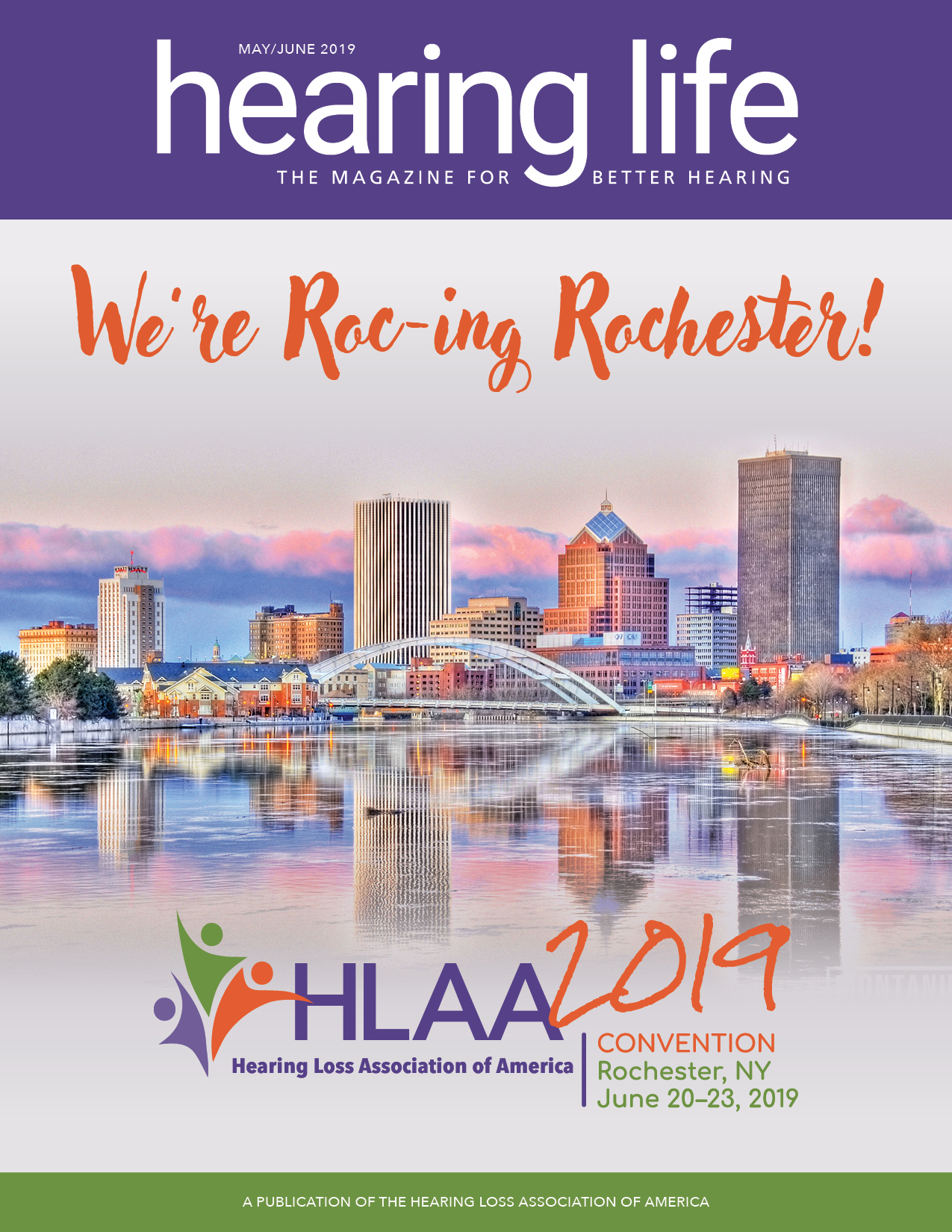 HLAA HearingLife 2019 May/June Cover