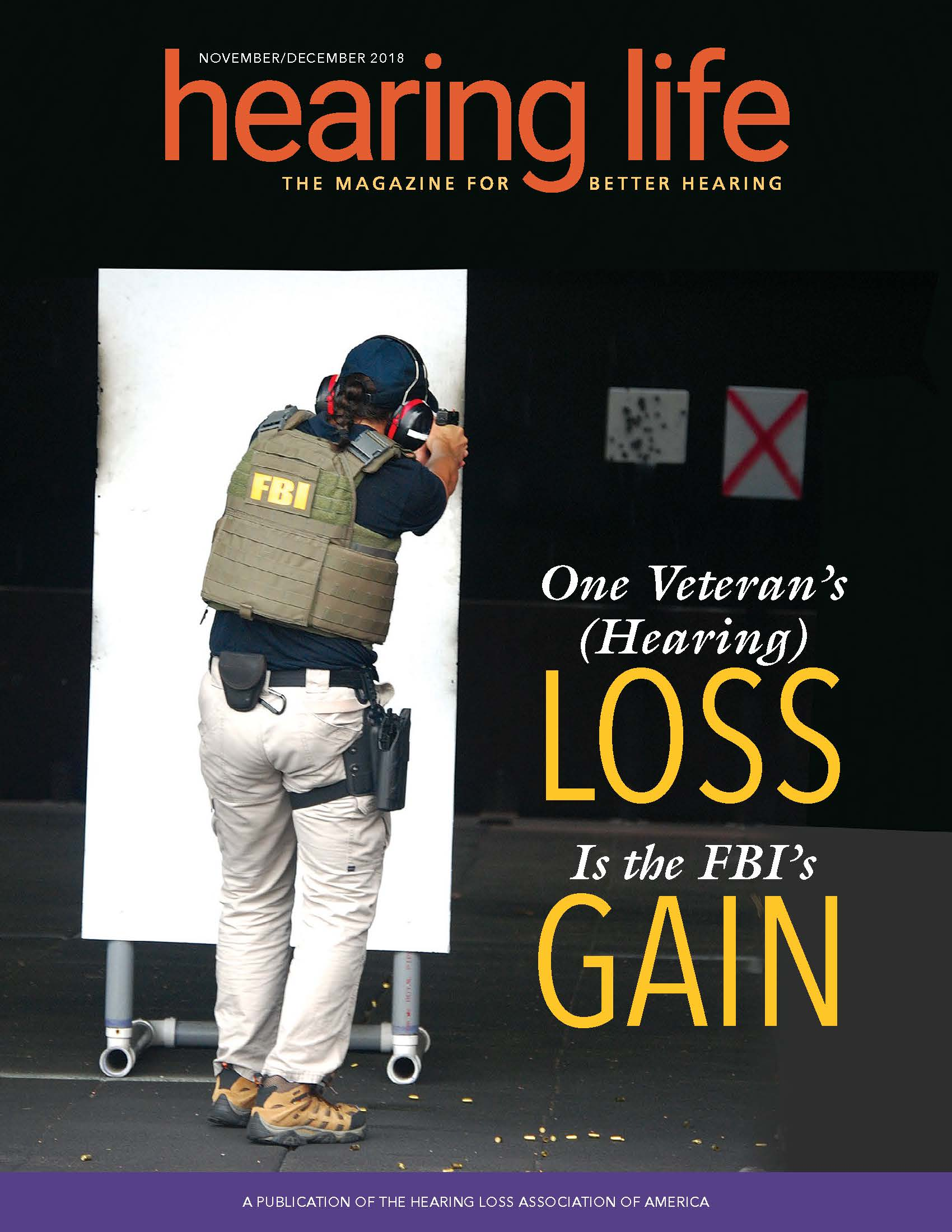 HLAA HearingLife 2018 Nov/Dec Cover
