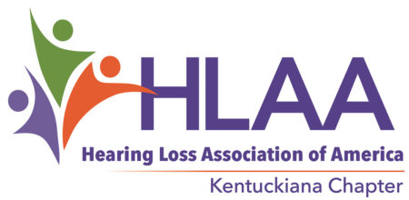HLAA Kentucky Kentuckiana chapter purple logo in JPG format