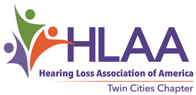 HLAA-Twin Cities Chapter logo