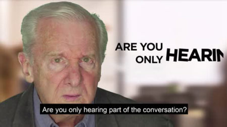 Picture of Recognizing Hearing Loss video sponsored by CaptionCall
