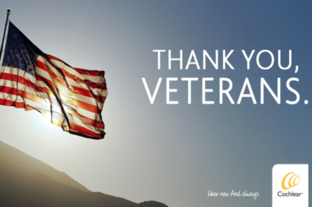 Cochlear Thank You Veterans