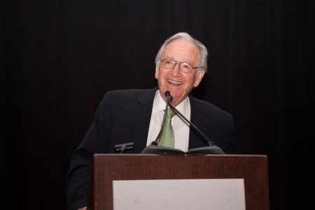 Senator Tom Harkin received the Advocacy Hall of Fame Award in 2015.