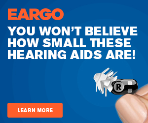 EARGO AD - You won't believe how small these hearing aids are!