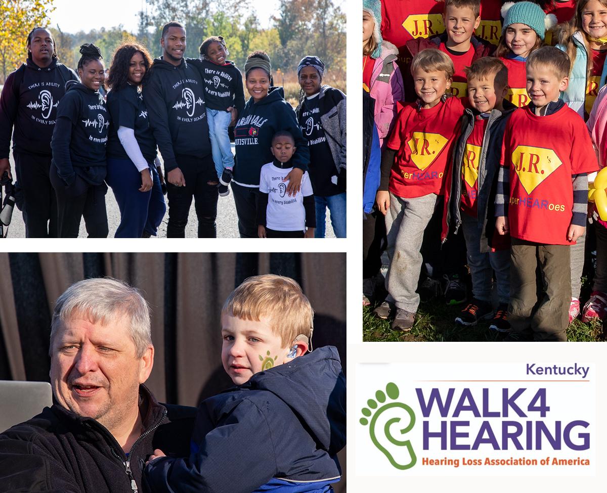 Families at Kentucky Walk4Hearing