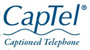 CapTel Captioned Telephone logo