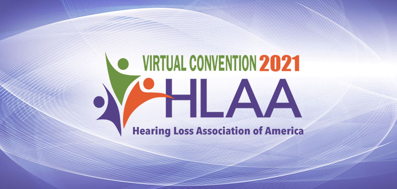 HLAA 2021 Convention Banner