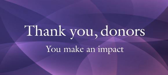 Donor Appreciation