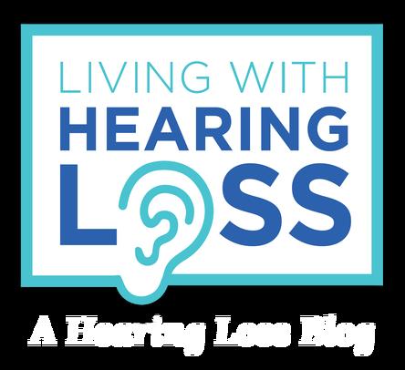 Living with hearing loss blog logo