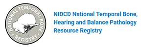 NIDCD National Temporal Bone Registry logo