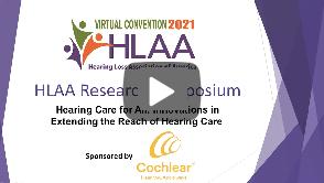 Research Symposium HLAA 2021