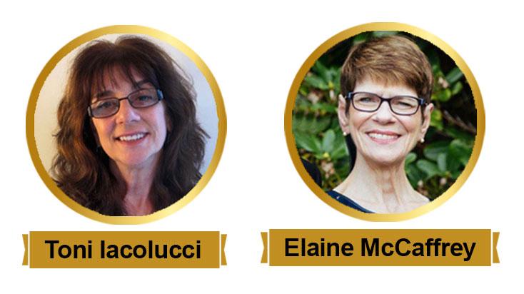 Toni Iacolucci and Elaine McCaffrey